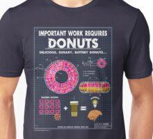 Donut Blueprint Unisex T-Shirt