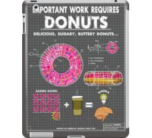Donut Blueprint iPad Case/Skin