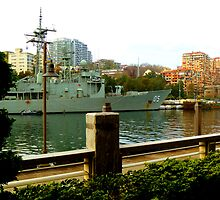 OMG! Another Battleship In Our Front Lawn! by Raoul Isidro