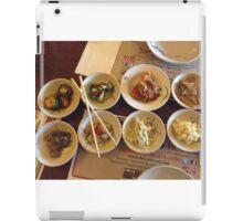 Banchan- Those Delightful Korean Side Dishes iPad Case/Skin