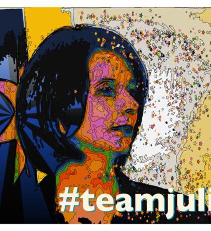 #teamjulia Sticker