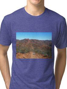 On the Ridgetop Trail in Flinders Ranges Tri-blend T-Shirt