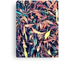 A Layer of Leaves Canvas Print