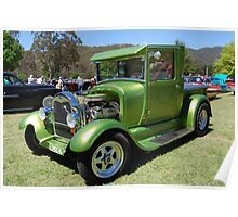 Pearly Green Machine Poster