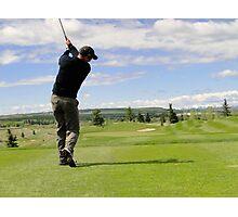 Golf Swing D Photographic Print