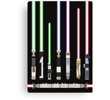 Star Wars Lightsaber Canvas Print