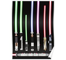 Star Wars Lightsaber Poster
