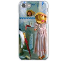 Reflection in the Mirror iPhone Case/Skin