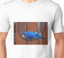 BlueJay @ the Feeder Unisex T-Shirt