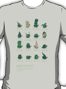 A Study of Turtles T-Shirt