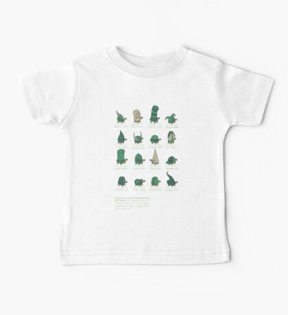 A Study of Turtles Baby Tee