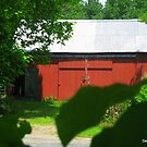 Barn in Griswold, CT by Debbie Robbins