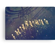 Dining in the Dark Canvas Print