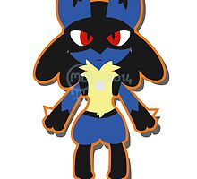 Chibi lucario by MariaDaregin