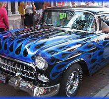 55 Chevy by Debbie Robbins