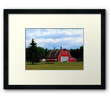 Two Cupola Barn Framed Print