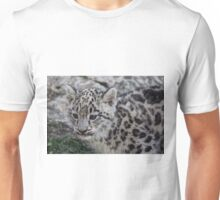 Baby Snow Leopard Unisex T-Shirt