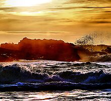 Another Pescadero Sunset by Bob Wall