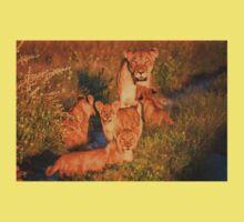 Kalahari Cub greeting Kids Tee