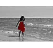 The Red Sundress Photographic Print