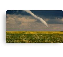 Funnel Clouds Canvas Print