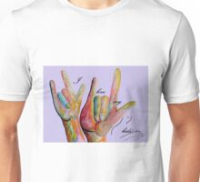 ASL I Love my KIDS! Unisex T-Shirt