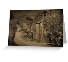 Cottages at Downham  Greeting Card