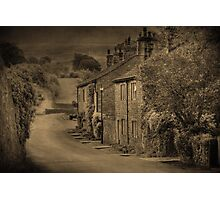 Cottages at Downham  Photographic Print