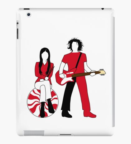 Jack and Meg iPad Case/Skin