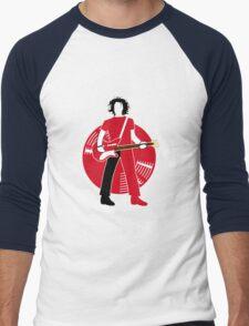 Jack The Axe-pander - Jack White III (White Stripes Red Edition) Men's Baseball ¾ T-Shirt