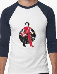 Jack The Axe-pander - Jack White III (White Stripes Edition) Men's Baseball ¾ T-Shirt