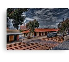 Tel Aviv, The Old Railway Station: A look from above Canvas Print