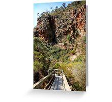 Morialta Conservation Park Greeting Card