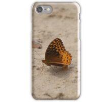 Beach butterflies iPhone Case/Skin