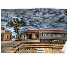 Tel Aviv, The Old Railway Station: The lonely wagon   Poster
