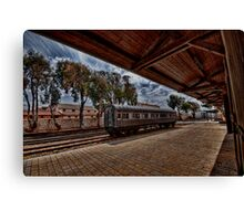 Tel Aviv, The Old Railway Station: is it a dream? Canvas Print