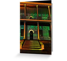 Steps to Uncommon Wealth Greeting Card