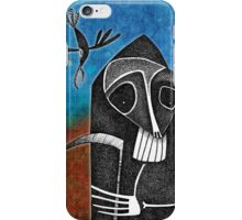 Death and the Raven iPhone Case/Skin