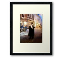Christmas in (C)old Kampen Framed Print