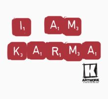 """i  am KARMA"" by KARMA TEES  karma view photography"
