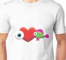 I LOVE FISH! Unisex T-Shirt