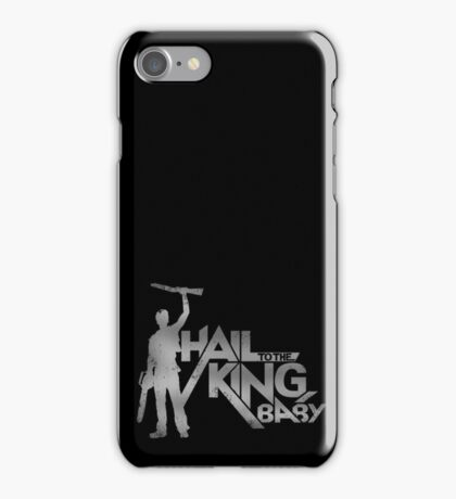 Evil Dead - Hail To The King [Dark] iPhone Case/Skin