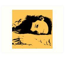Breana: Pop Art Art Print