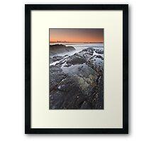 Seas of Mist & Moss Framed Print