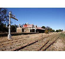 Abandoned Railway Station Photographic Print