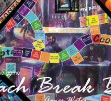 ETHOS - the game - Beach Break Bar indoor Sticker