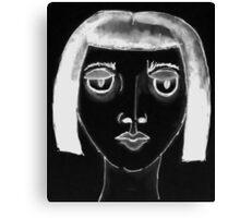 Black Zelda Canvas Print