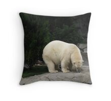 Not Home Throw Pillow