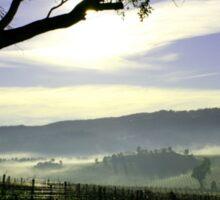 South Australia Barossa Landscape Sticker