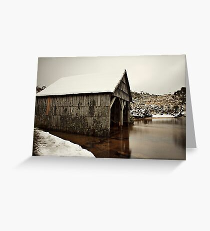 Snow Day_Cradle Mountain Greeting Card